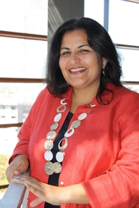 UA faculty member Anita Bhappu has been investigating digital coupon usage, involving prior and current graduate students. Project collaborators included Jennifer Andrews, Charles Lawry and Zeinou Toure – all in retailing and consumer sciences. She also has involved undergraduates in the investigations. (Photo credit: Beatriz Verdugo/UANews)