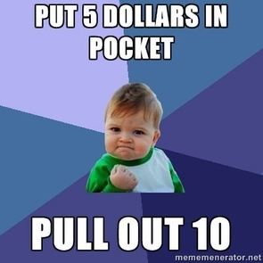 "The viral image, ""Success Kid,"" is an example of a popular meme. The image was originally taken by photographer Laney Griner of her son, Sammy, in 2007. (Source: knowyourmeme.com)"