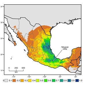 The international, interdisciplinary team determined that the domesticated chili pepper's region of origin extending from southern Puebla and northern Oaxaca to southeastern Veracruz, and is further south than was previously thought. (Photo courtesy of Gary Nabhan and Paul Gepts)