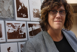 Susan Stryker, who directs UA's Institute for LGBT Studies, is a preeminent international scholar in transgender studies. (Photo credit: Beatriz Verdugo/UANews)