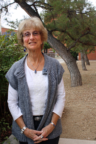 Sheri Bauman, a professor in the UA Department of Disability and Psychoeducational Studies, is a member of the 2014-15 cohort. (Photo: Beatriz Verdugo/UANews)