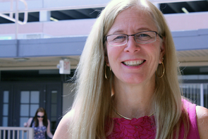 Sally J. Stevens is principal investigator on the NSF grant funding the newly launched i-STEM program. (Photo credit: Beatriz Verdugo)