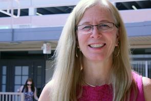 Sally J. Stevens is principal investigator on the NSF grant funding the newly launched i-STEM program. (Photo credit: Beatriz Verdugo)