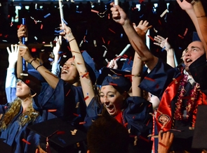 The undergraduate ceremony was held May 12 in McKale Memorial Center (Photos by Patrick McArdle/UANews)