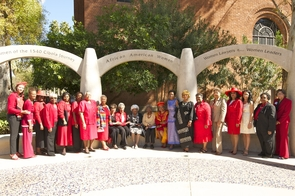 The official dedication for the African American Women's Arch of Honor took place this year, bringing together influential figures throughout the Tucson community. (Photo credit: Joe Jackson/Raytheon)