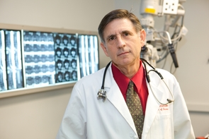 Dr. Allan Hamilton led a team that devised and built the first extracranial stereotactic radiation delivery system, treated the first 13 patients in history with extracranial stereotactic radiosurgery and launched a breakthrough in the treatment of extracranial cancer.