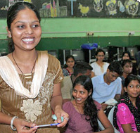 The ASSET India Foundation, founded by the UA's Ray Umashankar and his family, works with organizations in India to train victims of the sex trafficking industry, then helps them find jobs to help move them out of abject poverty. (Photo courtesy of ASSET India Foundation)