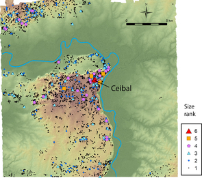 Through LiDAR, archaeologists were able to identify the locations of thousands of previously undiscovered ancient Maya architectural remains. (Image courtesy of Takeshi Inomata)