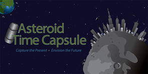 The Asteroid Time Capsule campaign invites the public to submit ideas about the nature of space exploration 10 years from now. (Image: Heather Roper/University of Arizona/OSIRIS-REx)