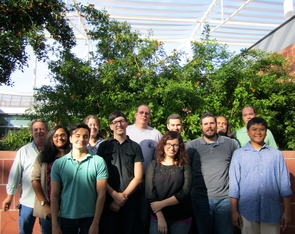 Behind every cyberinfrastructure platform are the people who run it. Members of the Atmosphere team at the iPlant Collaborative at the University of Arizona will manage the platform for Jetstream. (Photo by Shelley Littin)