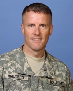 Army Lieutenant Colonel Benjamin J. Walters
