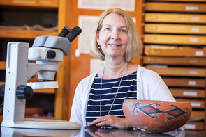 The cyberSW project will be a valuable tool for researchers who now must scour extensive archives, access multiple databases or collect new data for their work, Barbara Mills says. (Photo: John de Dios/UANews)