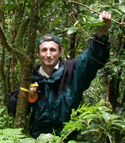 Brian Enquist of the UA's department of ecology and evolutionary biology has found a way to make accurate predictions about the structure and chemical exchanges of the world's forests. (Photo courtesy of Brian Enquist)