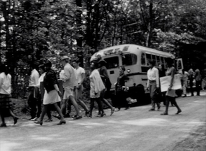 Students traveled from New York to Vermont for the summer art camp, which was created in response to civil unrest in the U.S. (Image courtesy of Hanson Film Institute)