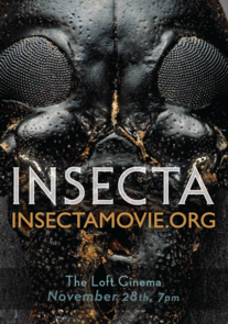 "The ""Insecta"" film poster"