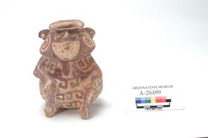 Effigy vessel excavated at Snaketown