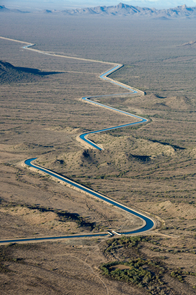 The Central Arizona Project supplies water from the Colorado River to central Arizona and is part of the state's diversified water portfolio. (Photo courtesy of CAP)