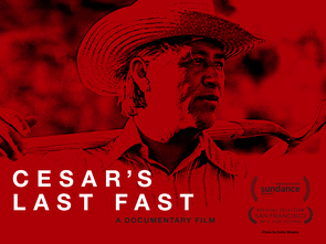 """Culled from hundreds of hours of footage, rarely heard interviews of Cesar Chavez himself, as well as testimonies of the people closest to him, """"Cesar's Last Fast"""" illuminates the story of one man's commitment and dedication to social justice."""