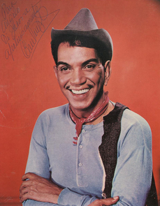 """Cantinflas, a comedian from the 1950s, """"represents Mexican poor people. He is an underdog in a very poor neighborhood,"""" Luis Coronado Guel says."""