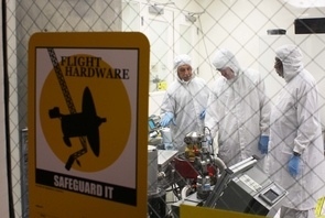 Led by UA Regents' Professor Marcia Rieke, a team of UA scientists and engineers has designed and built key components for the James Webb Space Telescope's Near Infrared Camera. (Photo: Daniel Stolte/UANews)