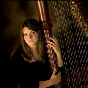 Harpist Lauren Hayes
