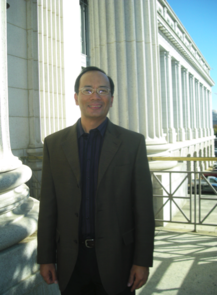 Biosystems Engineering Professor Joel Cuello during one of three NRC committee meetings in Washington, D.C.