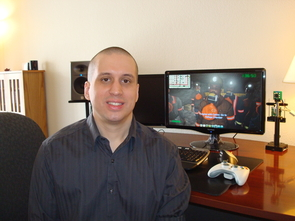 Leonard D. Brown, a Ph.D. candidate in the UA's department of computer science, developed interactive computer games to help keep miners safe. (Photo: Leonard Brown)