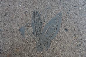 Maize inlay (Photo: Ty Augsburger/Creative Machines)