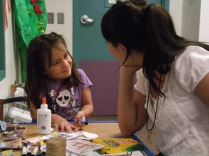 The UA speech summer camp gives children a valuable preschool experience while at the same time affording the researchers the chance to test treatments for language disabilities. (Photo by Rebecca Vance)