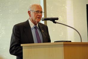 Dennis DeConcini served as a U.S. senator from 1977 until 1995. (Photo:Beatriz Verdugo/UANews)