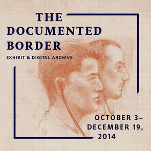 """""""The Documented Border"""" includes a new exhibit, which opened Oct. 3 and runs through Dec. 19. (Illustration by Lawrence Gipe)"""