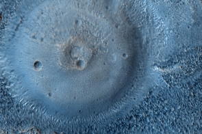 Domes on the Northern Plains (NASA/JPL/University of Arizona)