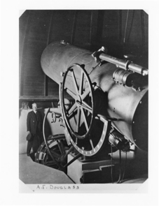 How it all began: In 1916, a gift of $60,000 from Lavinia Steward enabled the UA to build its first observatory.