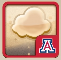 The UA-developed Dust Storm app for iPhones is free to download.