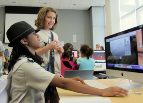 Dozens of students have had the chance to learn about game design in a workshop UA SISTA faculty members have been offering. (Photo courtesy of Derek Green)
