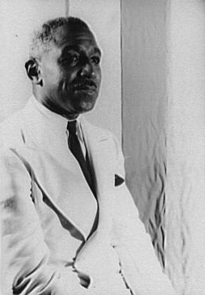 "George Schuyler's novel ""Black No More"" is a satire exploring race relations in which a sanitarium converts African-Americans into white people. (Photo courtesy of the Library of Congress)"
