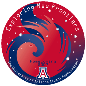 "This year's Homecoming theme is ""Exploring New Frontiers"" to commemorate the UA's part in space exploration with the Phoenix Mars Mission. The mission lifted off to Mars in August and is expected to touchdown May 25, 2008."