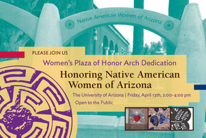 The effort to recognize Native American women began in 2007 with the formation of a UA committee including women from several tribal nations.