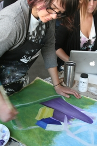 In the more expanded curriculum, UA School of Art students take three foundational courses, then choose an additional three classes to take. Above all, the program serve to ground students in traditional artistic skill and theory while also enabling them to explore more contemporary practices.