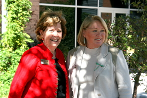 """There are so many things we can do together in addition to the life sciences and agriculture. There are great opportunities for Yavapai College students and other students,"" UA President Ann Weaver Hart said during a tour with Yavapai College President Penny Wills."
