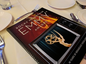 Rocky Mountain Emmy Awards booklet (Photo: Matt Rahr)