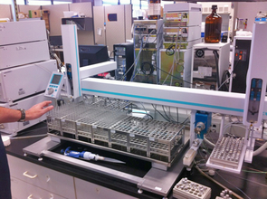 High-Throughput Automated Drug Purification Platform
