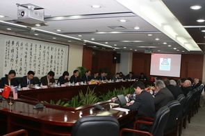 Regent Dennis Deconcini, UA Executive Vice President and Provost Eugene G. Sander and interim Vice President for Instruction Jerry Hogle represented the UA in Nanjing.