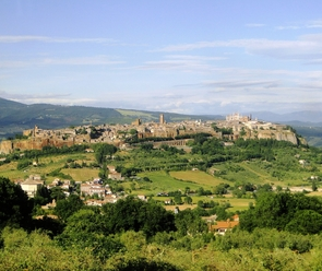 """Soren leads the UA's most popular study abroad program, """"Arizona in Orvieto,"""" in Italy each summer. (Photo courtesy of UA Office of Global Initiatives)"""