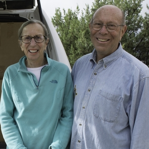 Judith and Andrew Finger (Photo: Jannelle Weakly/Arizona State Museum)