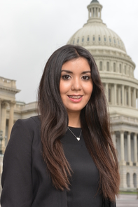 Karen Lara, a UA graduate student studying public administration, is currently serving as a summer intern in the office of U.S. Rep. Raúl M. Grijalva.