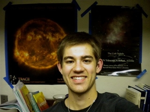 Kaylan Burleigh, a UA junior, hopes to become an astronomy professor who conducts research in stellar physics.