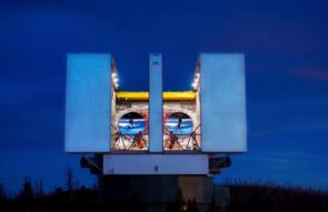 The Large Binocular Telescope, located on Mount Graham (Image: Phil Hinz/LBT)