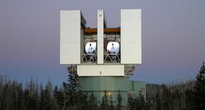 The Large Binocular Telescope, Mount Graham