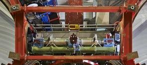 A close-up view of the LBT Interferometer. (Photo: LBTO - Enrico Sacchetti)